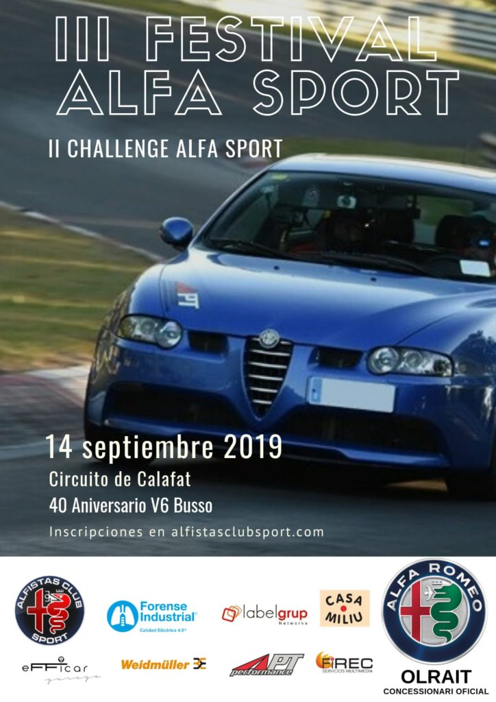 III Festival Alfa Sport - Circuit de Calafat