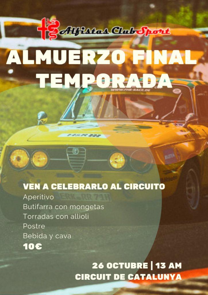Final Challenge y Almuerzo final de temporada @ Circuit de Catalunya