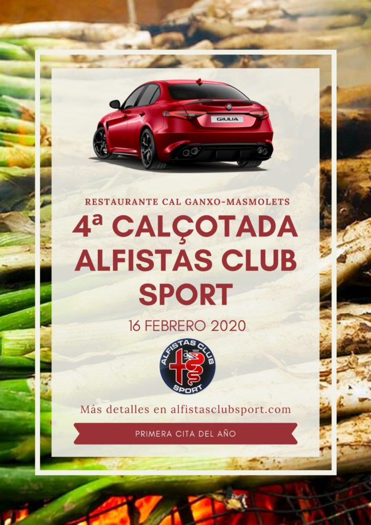 IV Calçotada Alfistas Club Sport